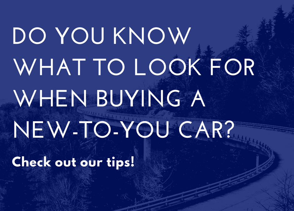 What You Need To Know Before Buying a Pre-Owned Car